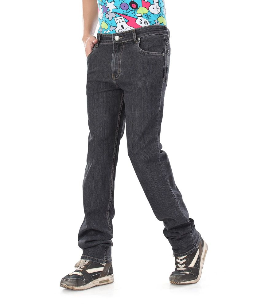 Dragaon Relax Fit Dark Gray Jeans