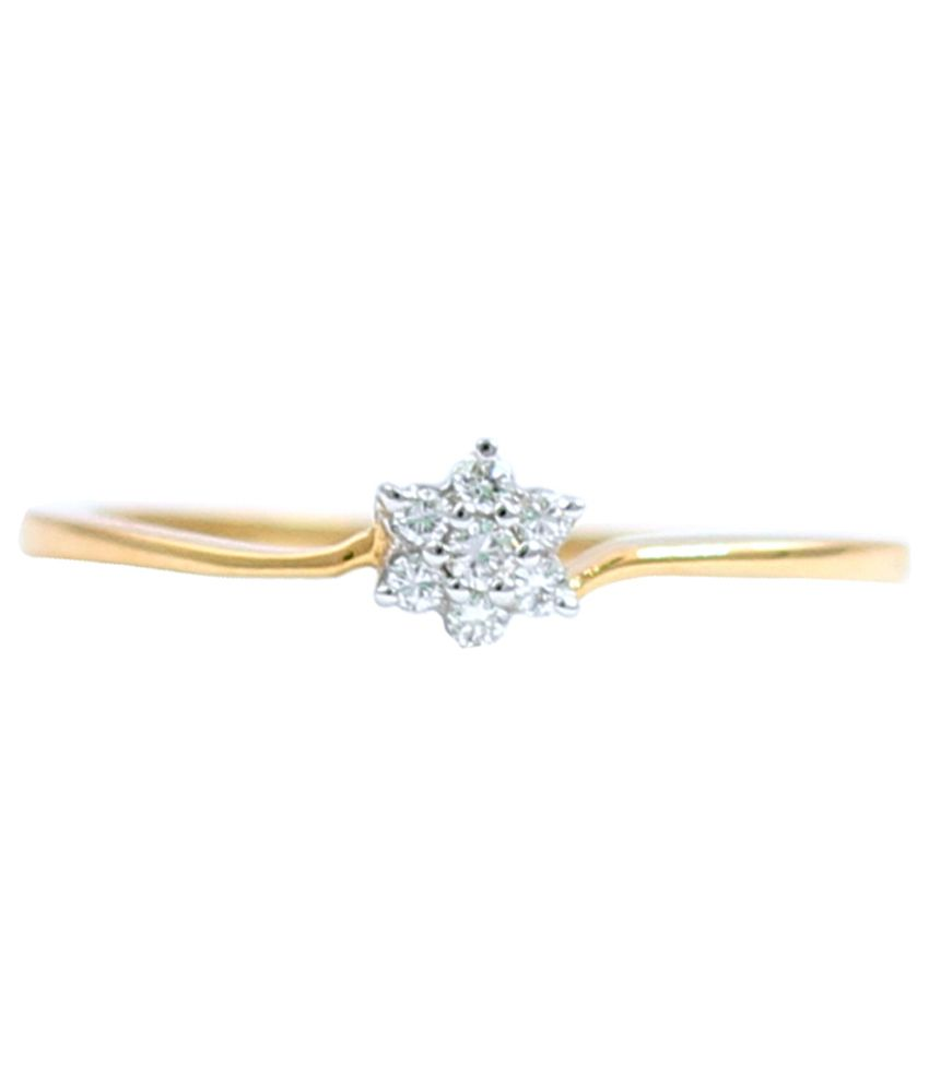 Mangal Athavale 18kt Beautiful Gold Diamond Ring