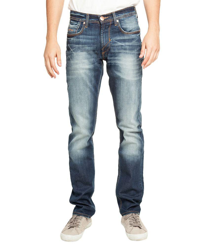 Web Jeans Blue Regular Jeans