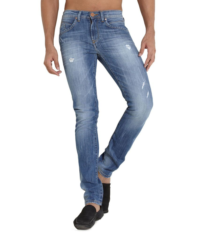 Web Jeans Blue Slim Jeans