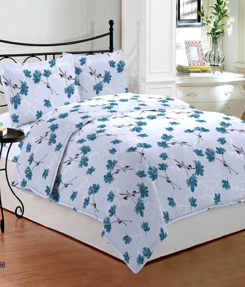 Bombay Dyeing Bed Sheets White