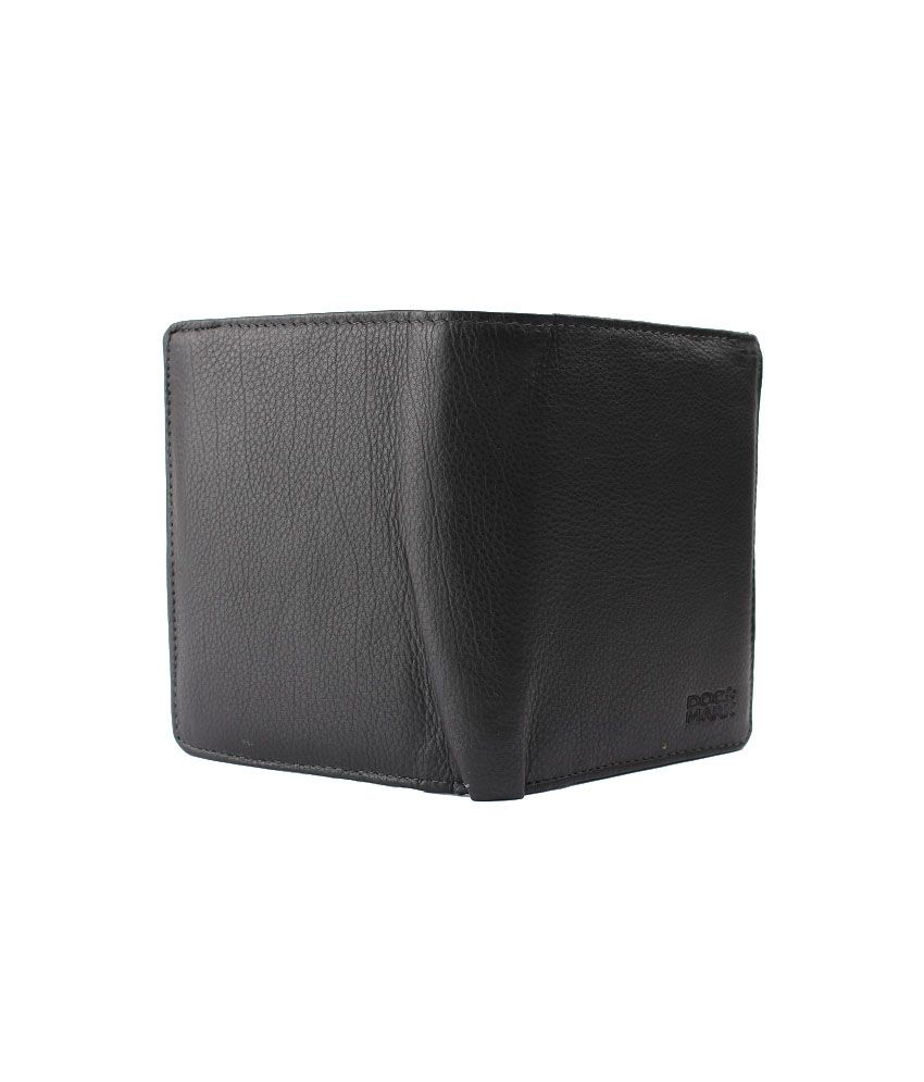 Doc Mark Leather Tri Fold Formal Regular Wallet Buy Online At Low Cream Walet 2in1