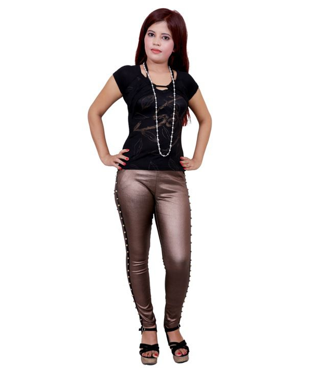 Madaam Gray Denim Lycra Jeans