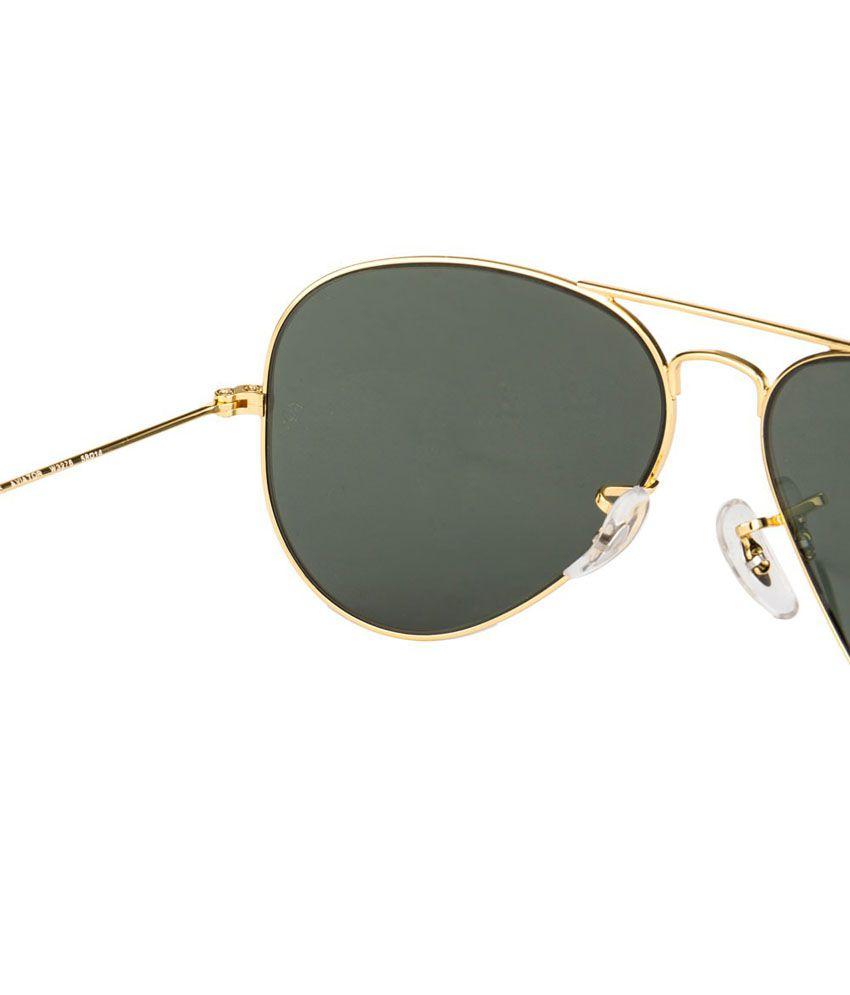 arista ray ban 8ogj  Rayban Rb3025 W3276 Arista Crystal Green Aviator Unisex Sunglasses