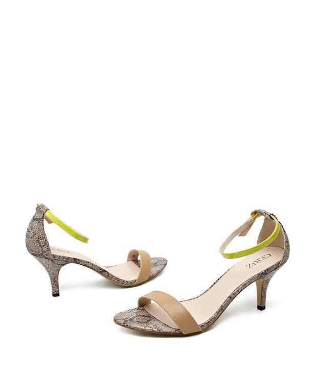 36953d21077 Ceriz Pink Sssssexy Snake Skin Print Heels Price in India- Buy Ceriz Pink  Sssssexy Snake Skin Print Heels Online at Snapdeal