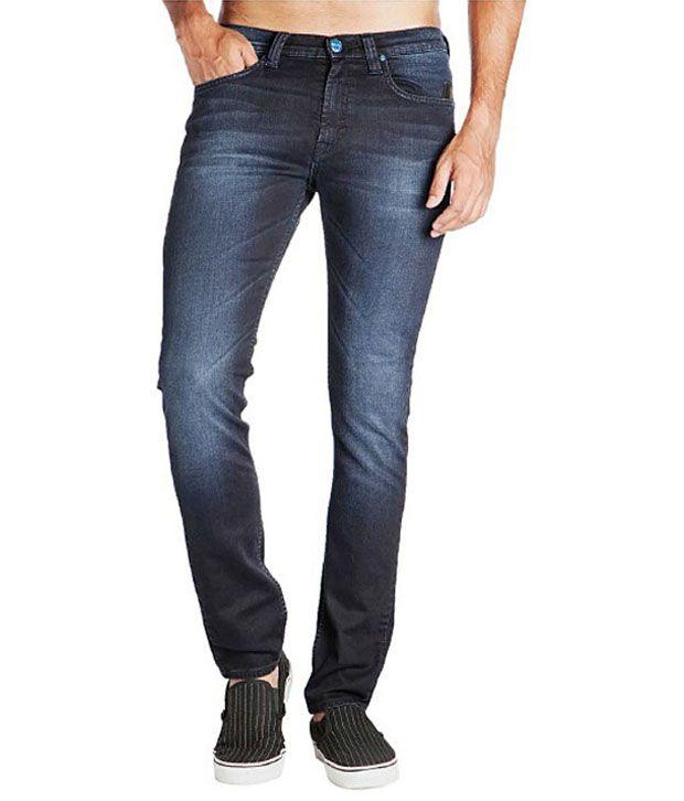 Lee Navy Slim Jeans