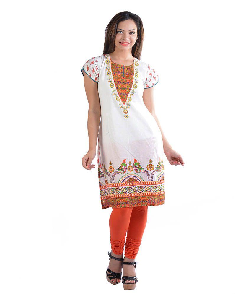 Prakhya Printed Cotton Kurta
