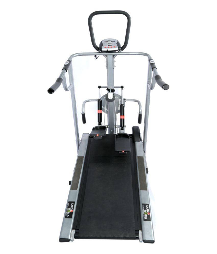 Cybex Treadmill Error 3: Cardio World 4 In 1 Multi Treadmill: Buy Online At Best
