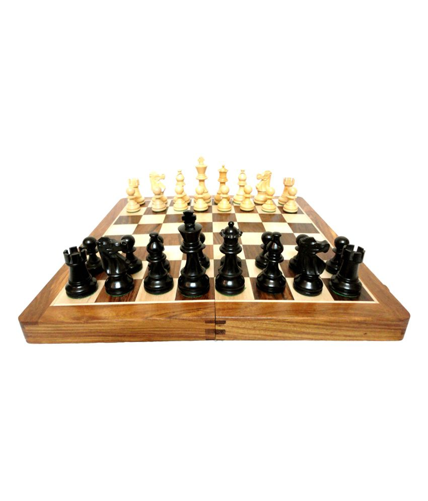 Craft Store India Wooden Staunton Folding Chess Board