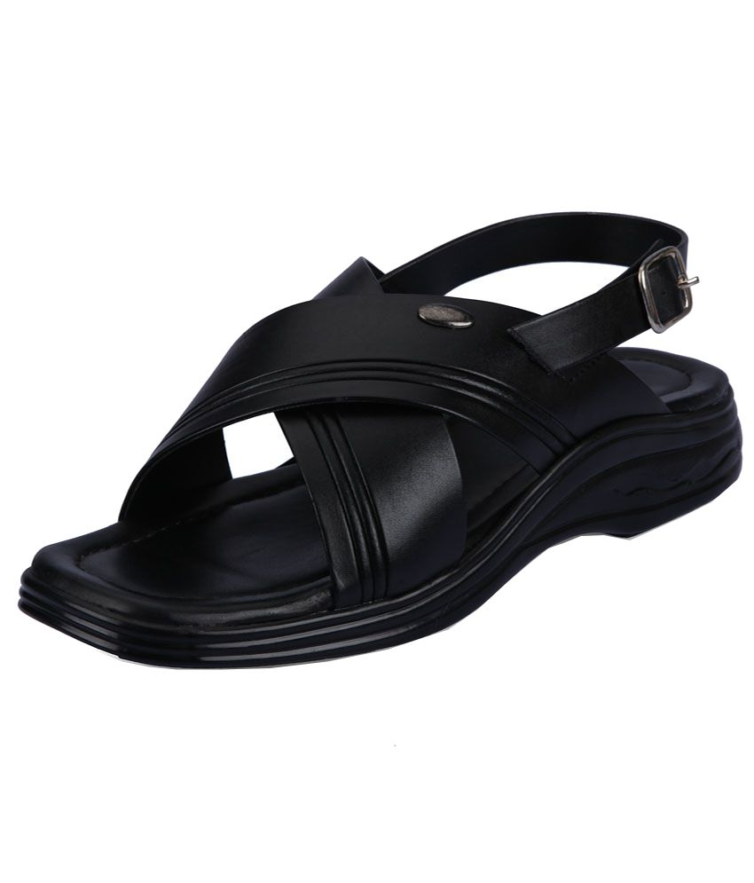 6cc87a99df0d Action Black Sandals For Men Price in India- Buy Action Black Sandals For  Men Online at Snapdeal