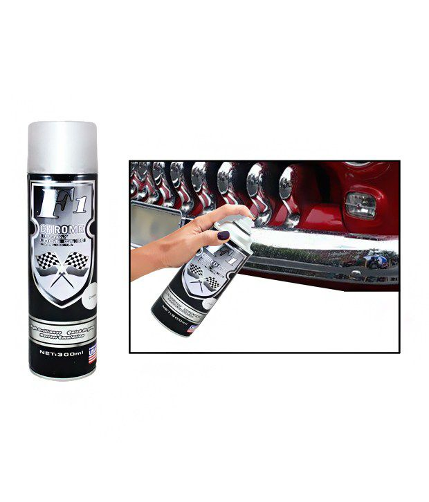 formula1 car bike spray paint 300ml chrome buy. Black Bedroom Furniture Sets. Home Design Ideas