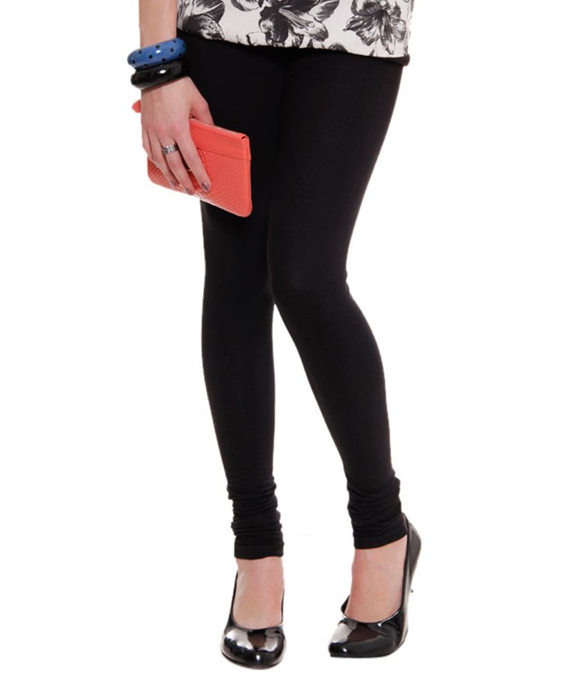 9992c76c5cb56 Lux Lyra White And Black Legging Price in India - Buy Lux Lyra White And  Black Legging Online at Snapdeal