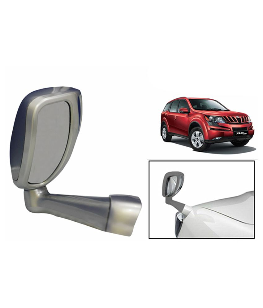 Speedwav Front Fender Suv Wide Angle Mirror Silver Mahindra Xuv