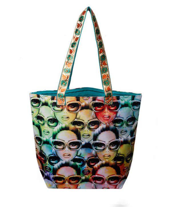 Zevog Multicolour The Diva Tote Bag