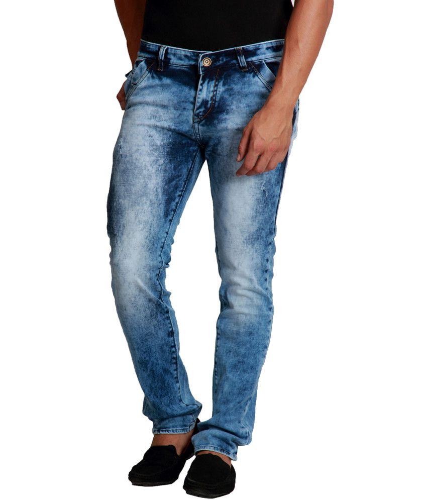 Design Roadies Blue Slim Jeans