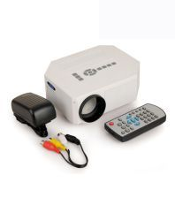 Vox Hdmi Led Projector Supporting Av Vga Usb Sd -White