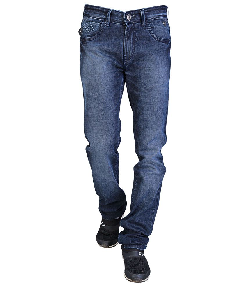 4sixty5 Jeans Navy Slim Fit Jeans