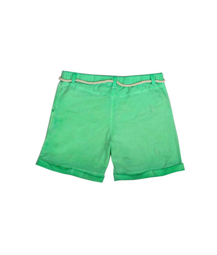 Fiore Jolie Green Shorts