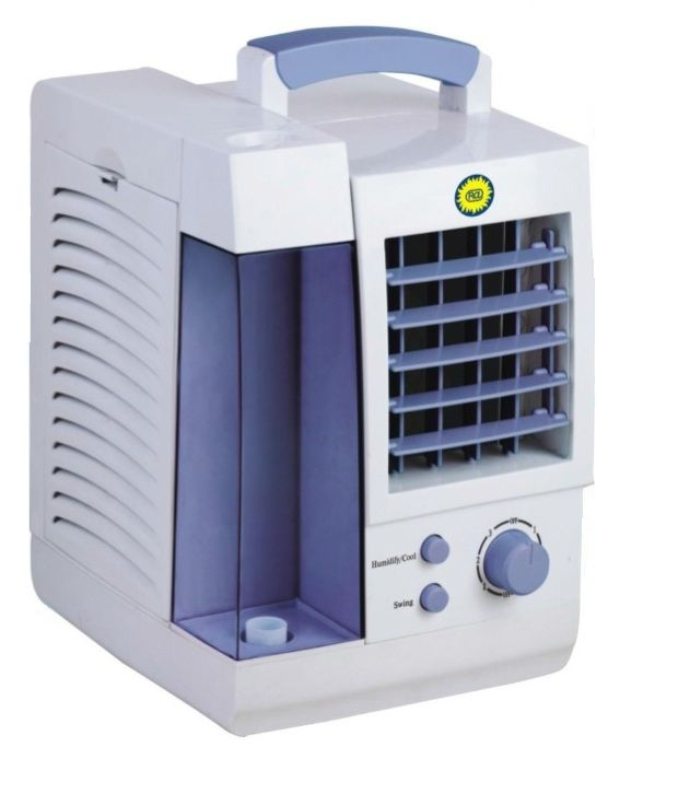 Mini Air Cooler : Ra cl ltr mini air cooler sky blue price in india