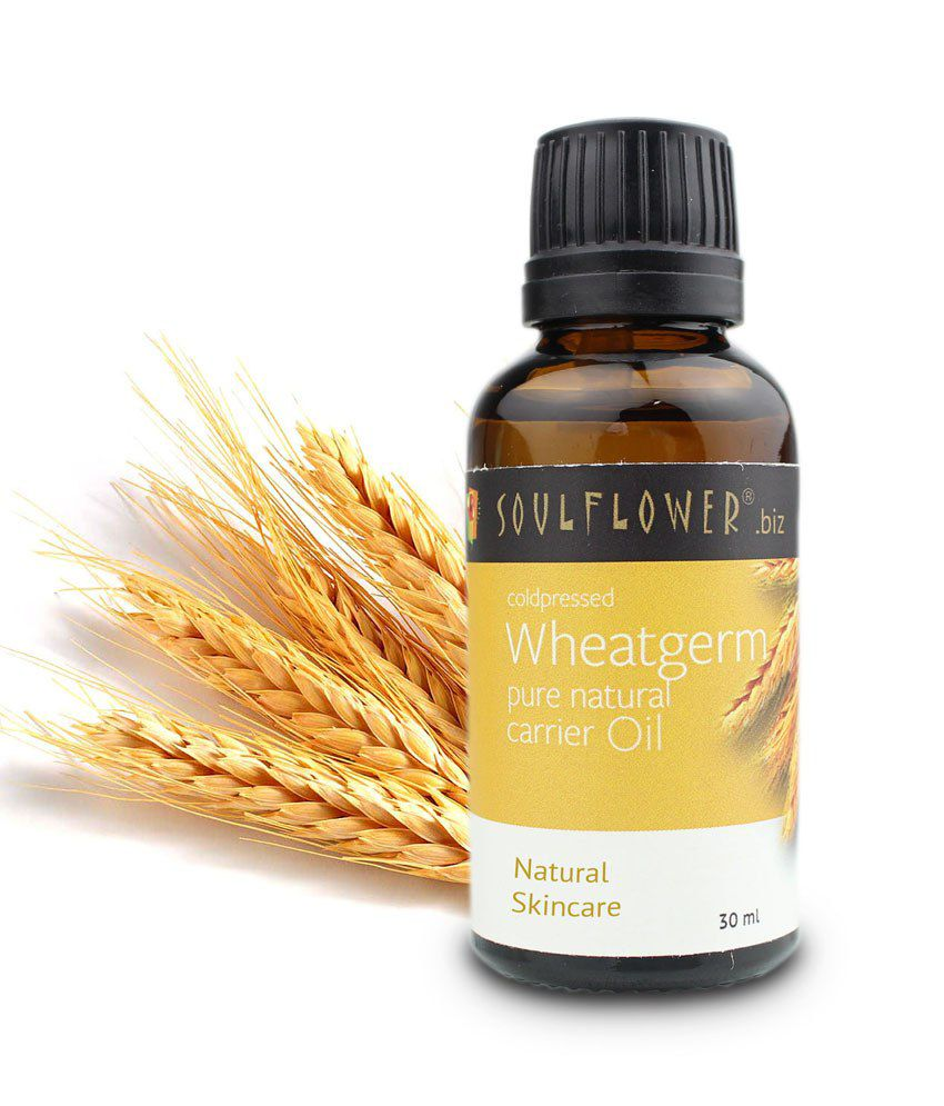 Soulflower Wheatgerm Organic Carrier Oil Pack