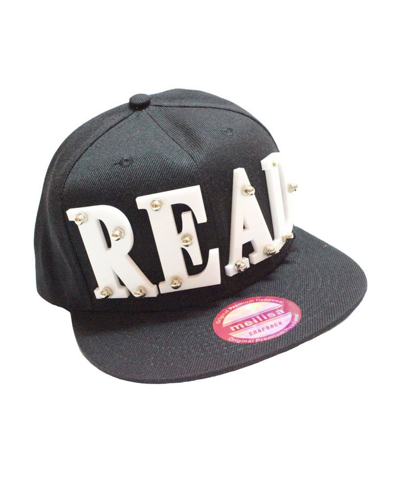READ 3D Snapback & Hiphop Caps (Black)