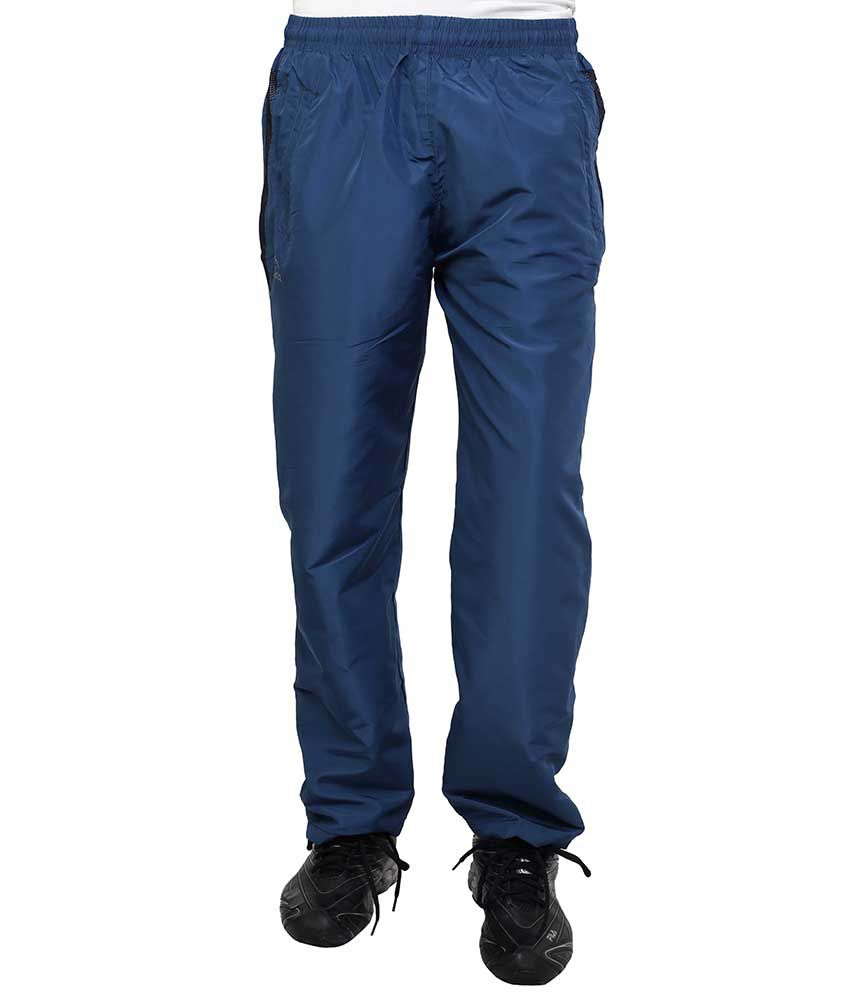Dida  Blue Polyester Trackpant
