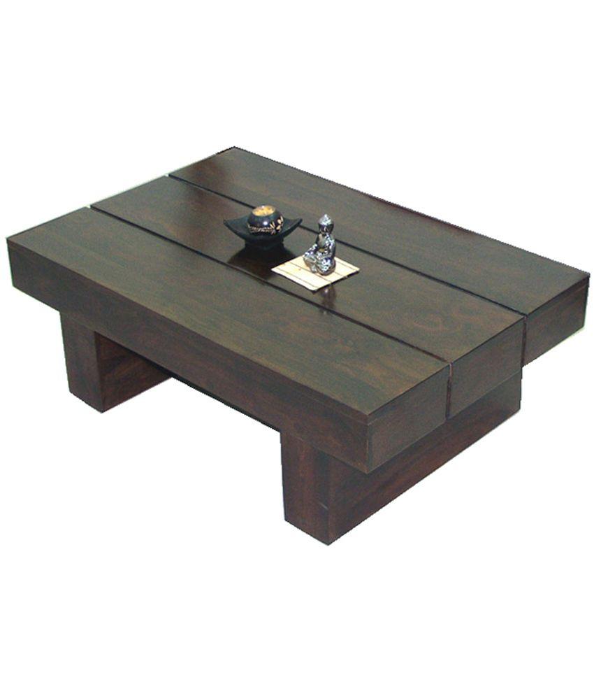 Junglewood Low Height Designer Coffee Table
