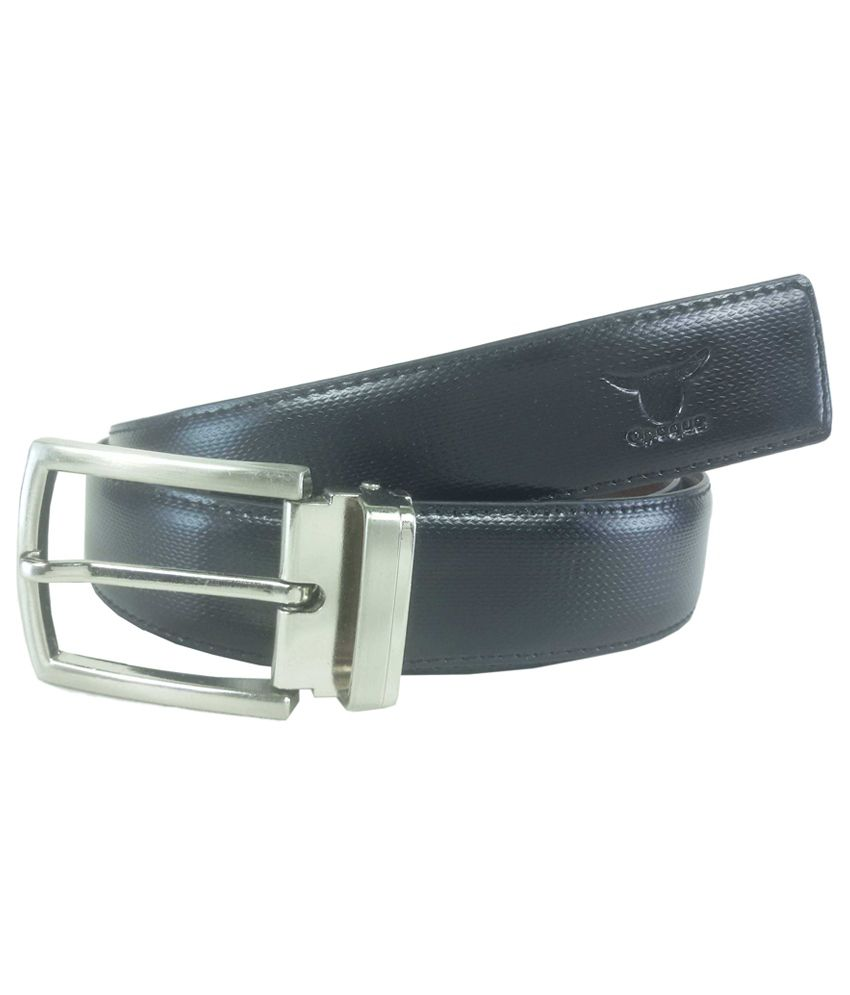 Opaque Multi Color Non Leather Formal Belt For Men: Buy ...