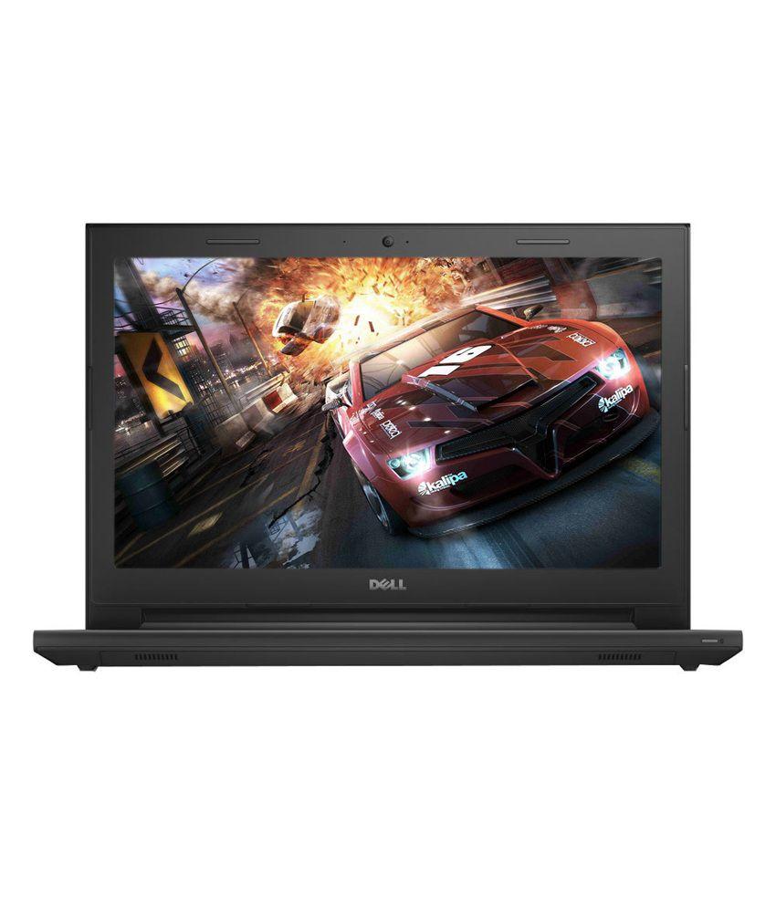 Dell Inspiron 14 3442 Laptop (4th Gen Intel Core i5- 4GB RAM- 1TB HDD- 35.56cm (14)- Ubuntu- 2GB Garphics) (Standard Black)