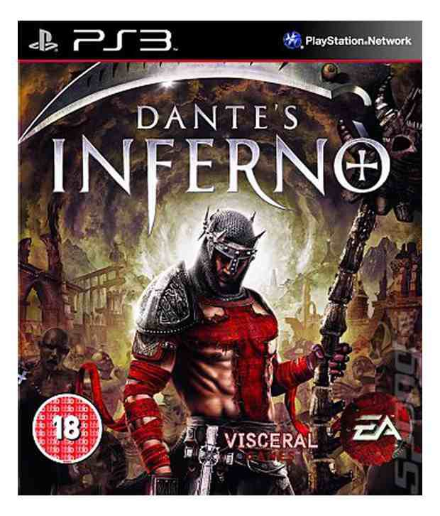 Sony Dantes Inferno Top Rated Action Game