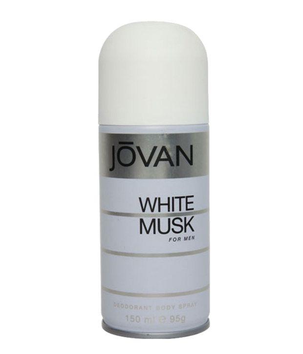 Jovan White Musk Deo For Men