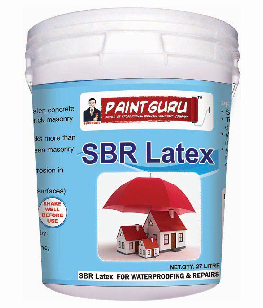 Buy Paint Guru Super latex Equivalent to Dr Fixit SBR Latex