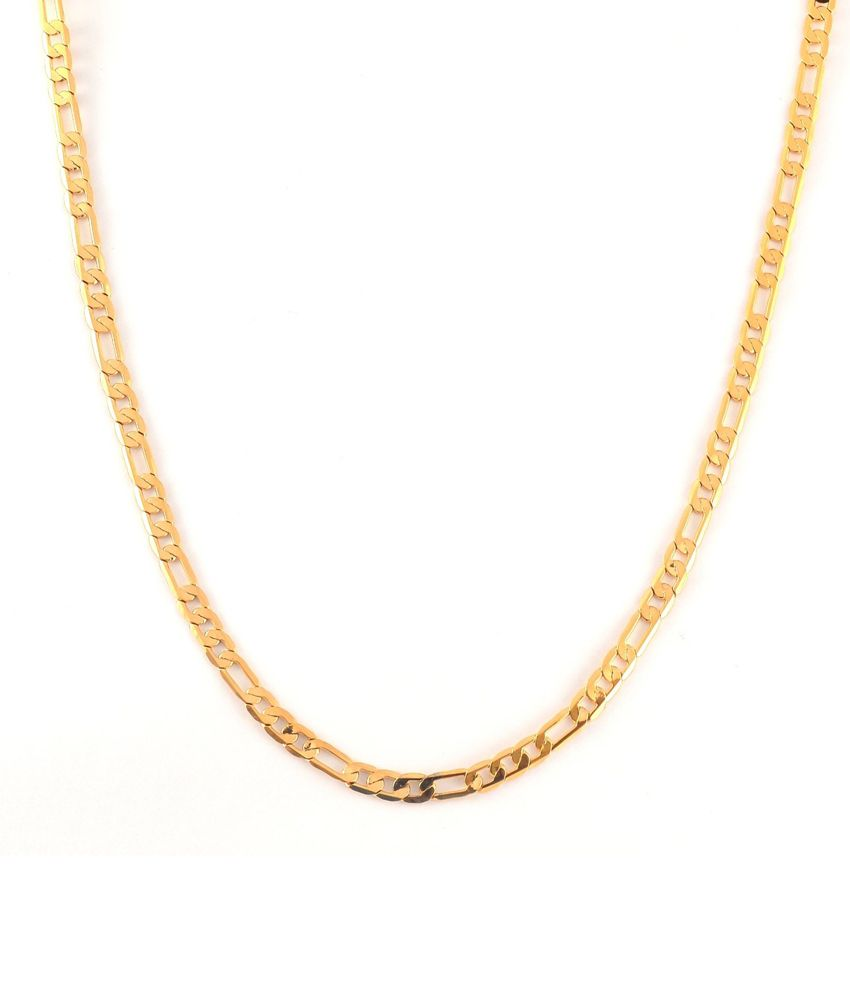 18 KT Gold Plated Links Chain Gold for Women by GB ...