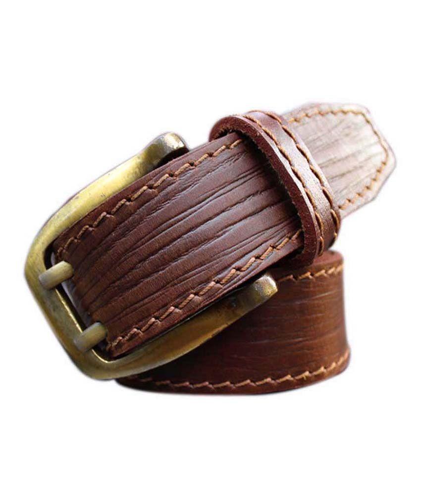 Winsome Deal Brown Formal Single Belt ForMen
