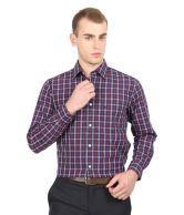 Allen Solly Blue Semi Formals Shirt