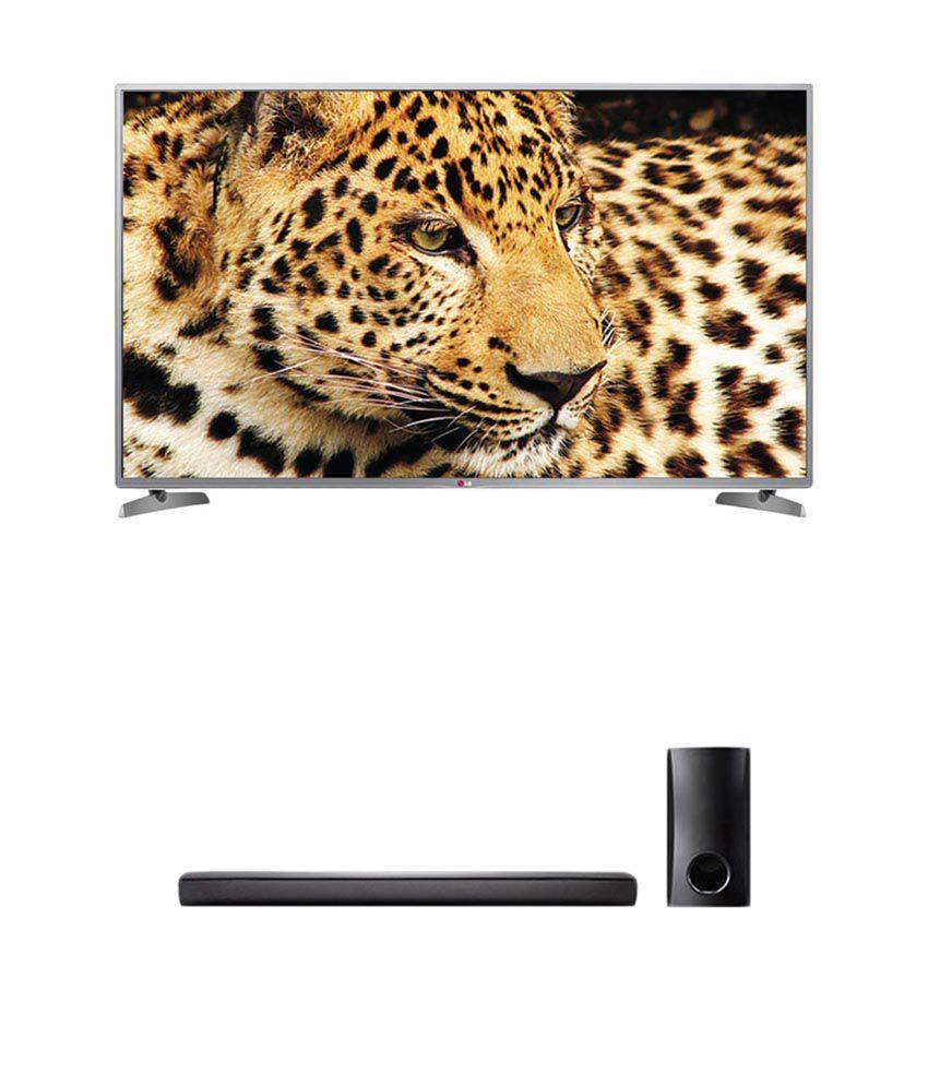 LG 55LB6500 139.7 cm (55) 3D Full HD Smart LED Television + LG NB2540 Bluetooth Soundbar (Wired Sub Woofer)