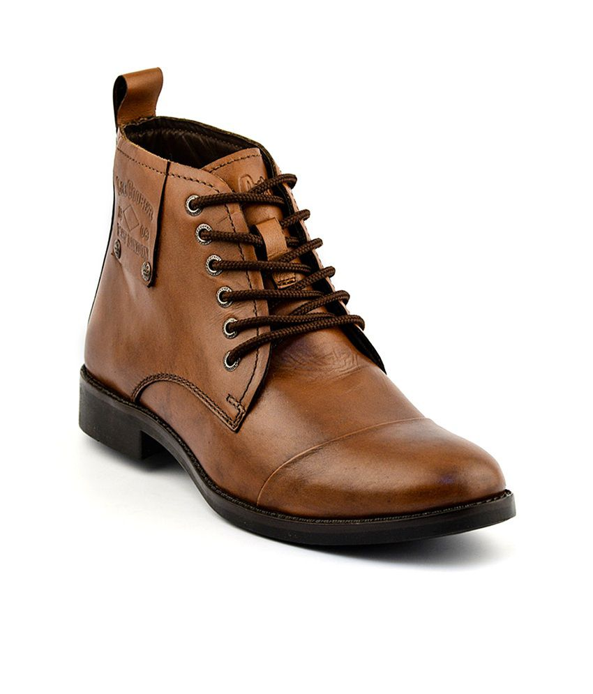 ae223511 Lee Cooper Tan Boots Art LC2025TAN - Buy Lee Cooper Tan Boots Art ...