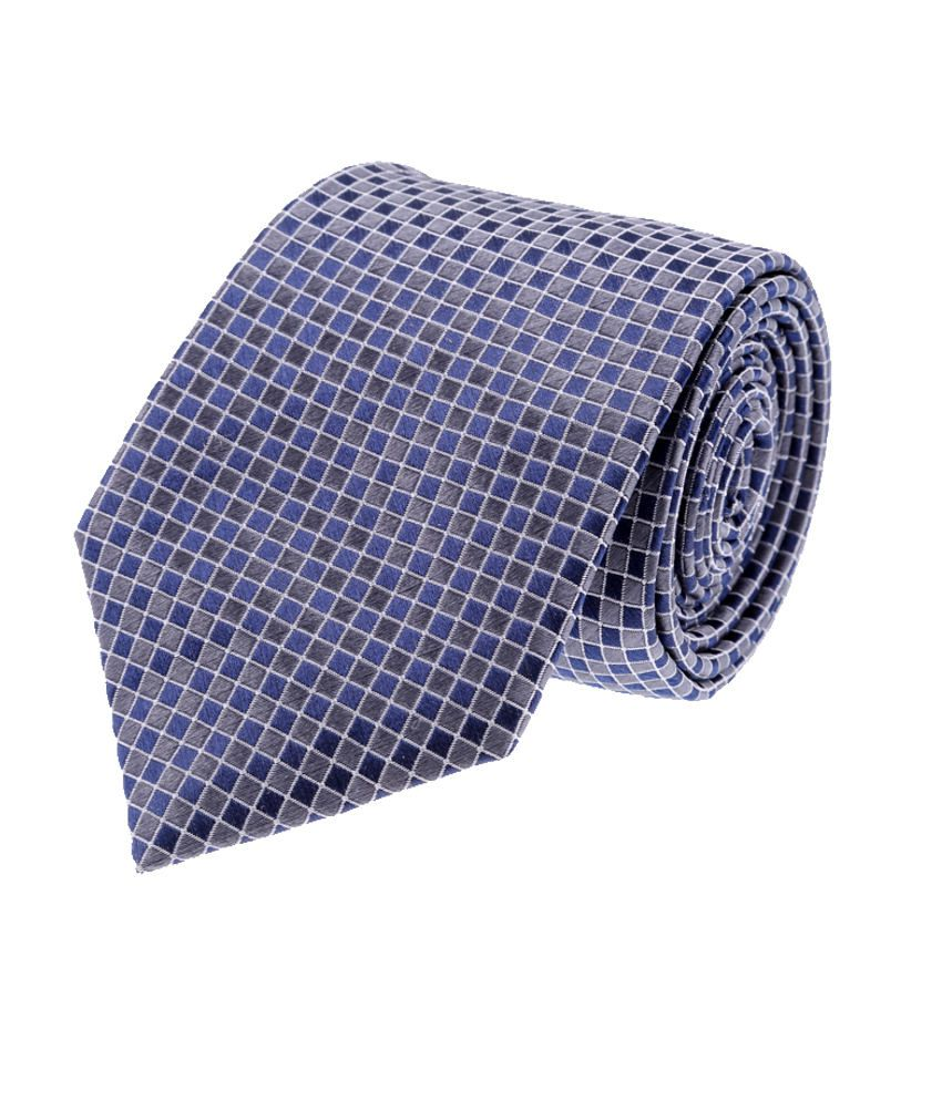 Louis Philippe Blue Silk Formal Broad Ties