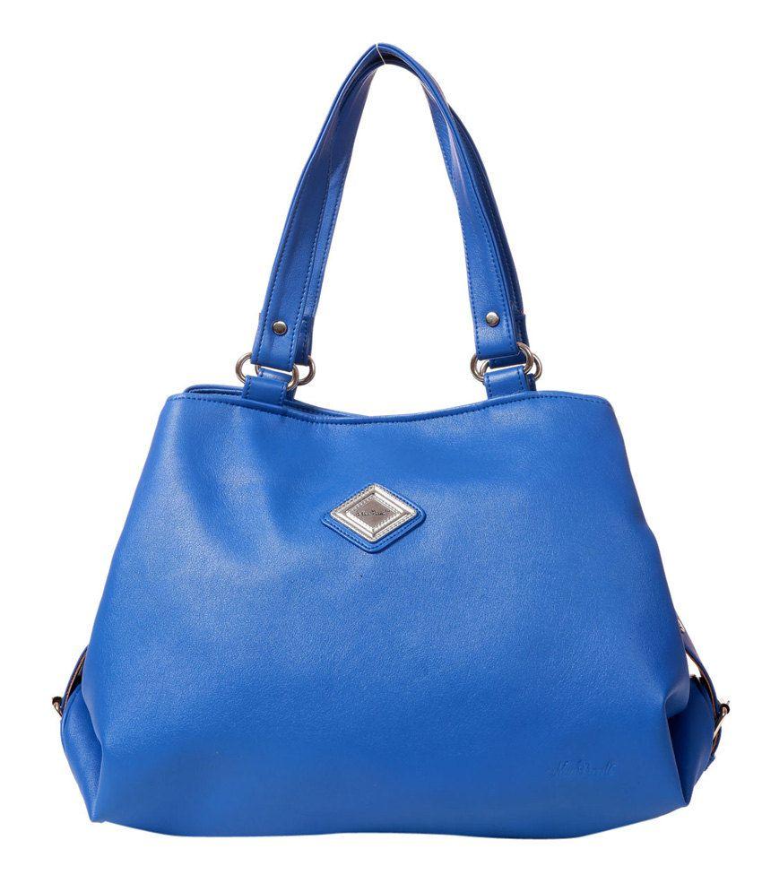 New Pearls Classic Blue Women Handbags
