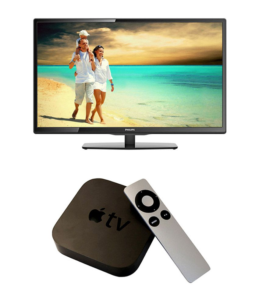 Philips 40PFL4958 101.6 cm (40) Full HD LED Television + Apple TV ( 3rd generation)