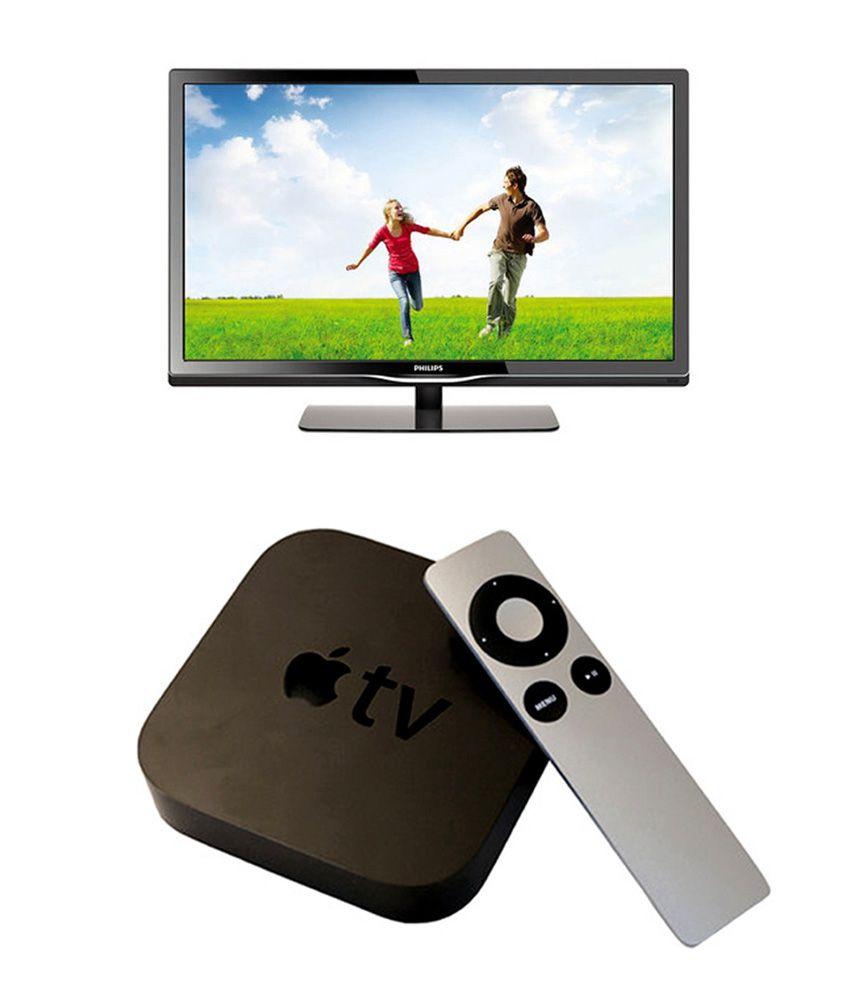Philips 50PFL4758 127 cm (50) Full HD LED Television + Apple TV ( 3rd generation)