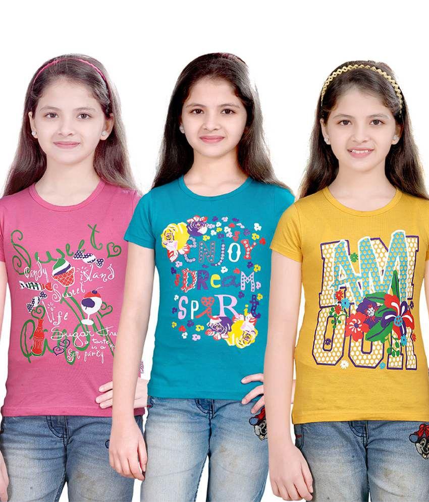 Sini Mini Pretty Girls Top 3 Pcs Combo