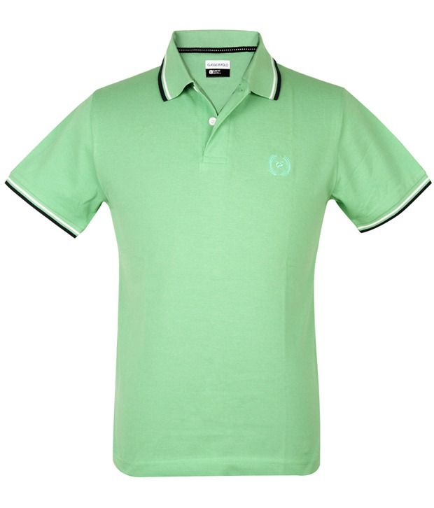 7e6dd968 Classic Polo Twin Pack( Green/navy)polo Slim Fit T-shirts - Buy ...