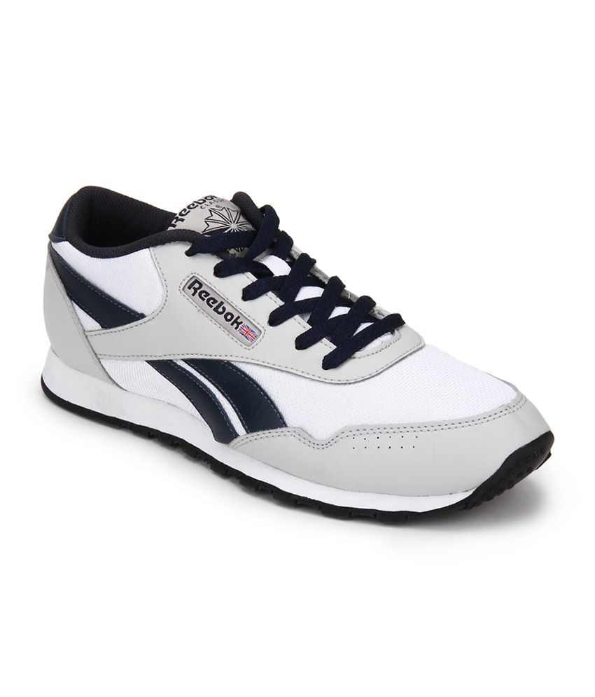 4c03b0b1cef86f Reebok White Lifestyle Shoes - Buy Reebok White Lifestyle Shoes Online at Best  Prices in India on Snapdeal