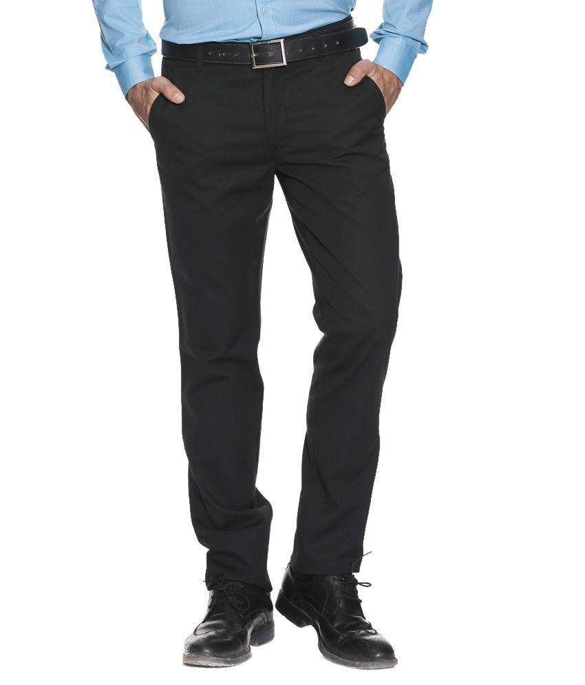 Black Men Cotton Trouser