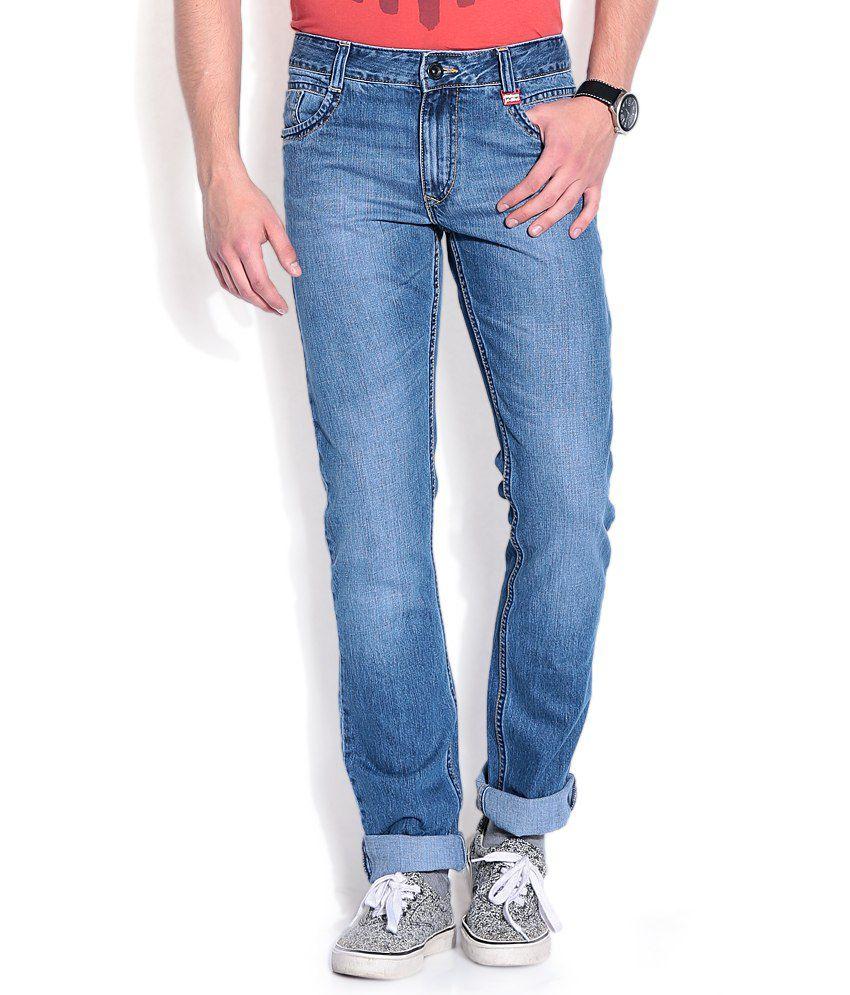 John Players Blue Skinny Jeans