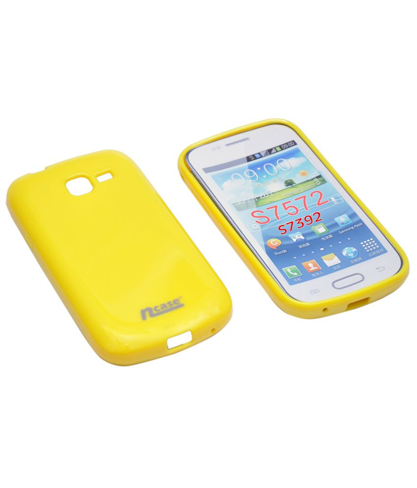 Ncase-Back-Cover-For-Samsung-Galaxy-Trend-Duos-S7392-Yellow