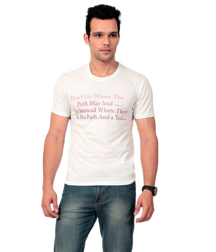Texco White T-shirt For Women