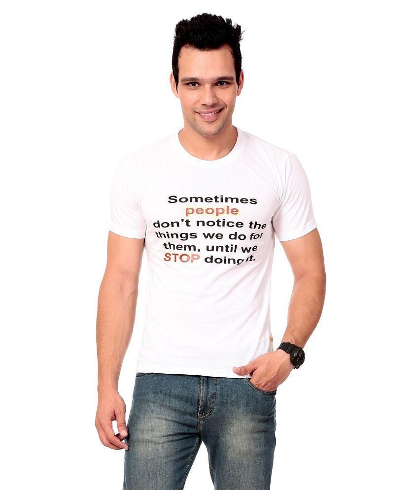 Texco White-shirt For Men