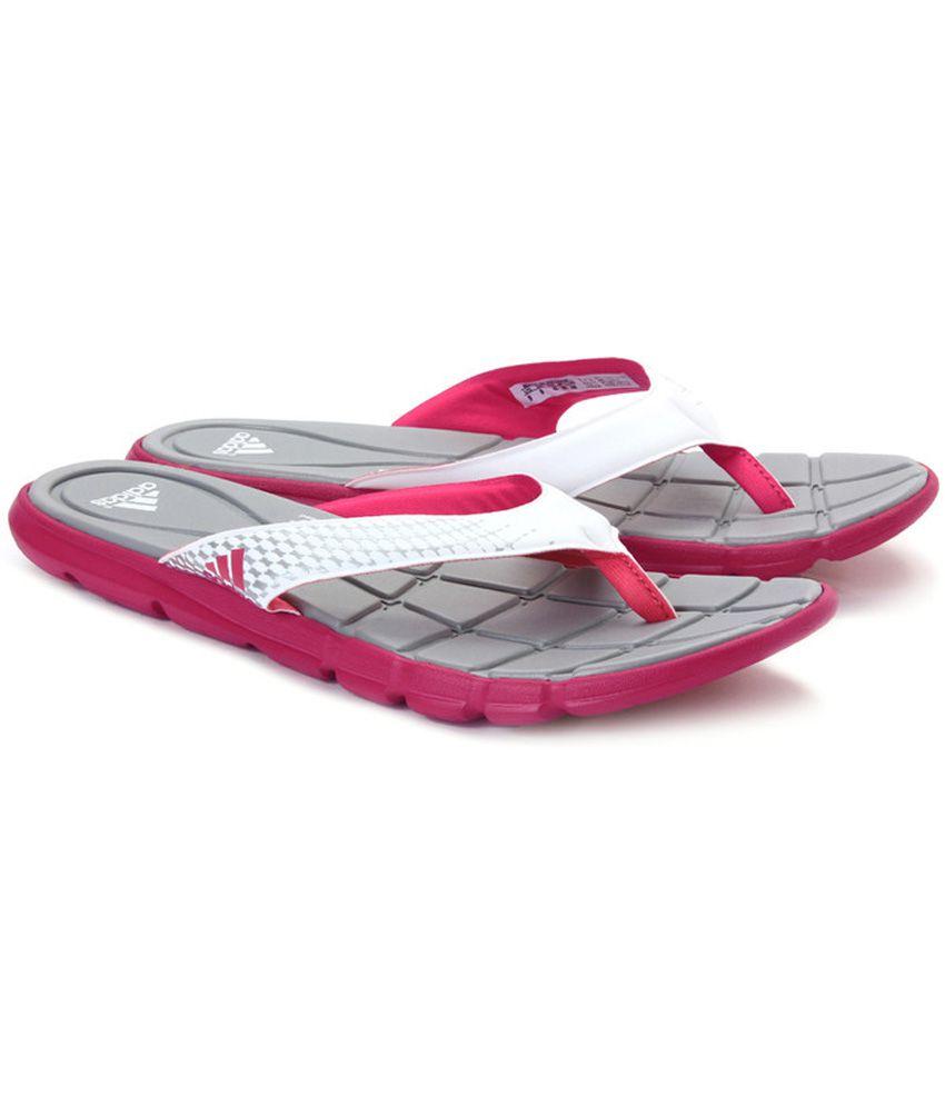 7881702e6ef03b ... Adidas Adipure 360 Thong Gray And Pink Flip Flop ...